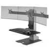 Innovative Workstation Monitor Mounts Triple Compact Innovative Winston-E Sit-Stand Workstation Single, Dual, And Triple