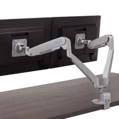 Workrite Dual Monitor Arm None / None Workrite Conform Dual Articulating Monitor Arm