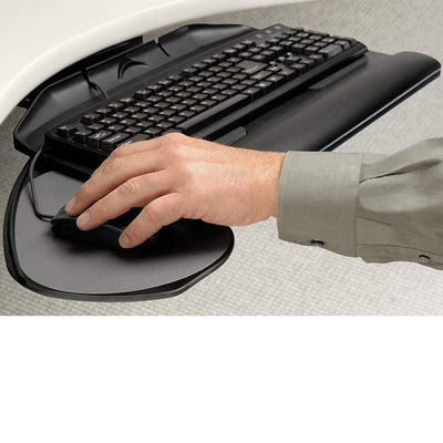 Workrite Keyboard Platform Banana-Board (Platform only) (UB-2180S-25) Workrite Banana board Keyboard Tray Model 2128-22 or 2128-17 Quick Ship