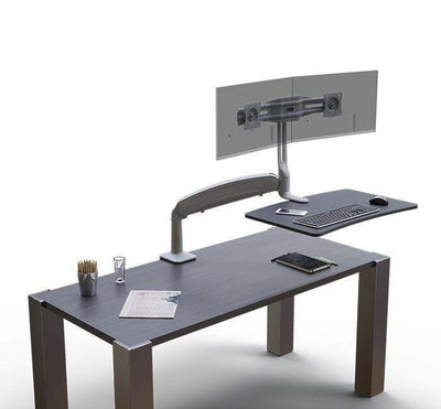 Workrite Sit To Stand Workstation None Workrite Solace Single Sit To Stand Workstation
