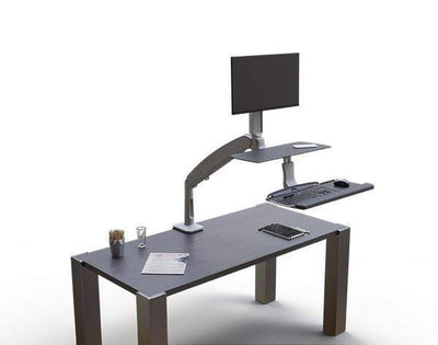 Workrite Sit To Stand Workstation Standard / None Workrite Solace 2 Sit To Stand Workstation