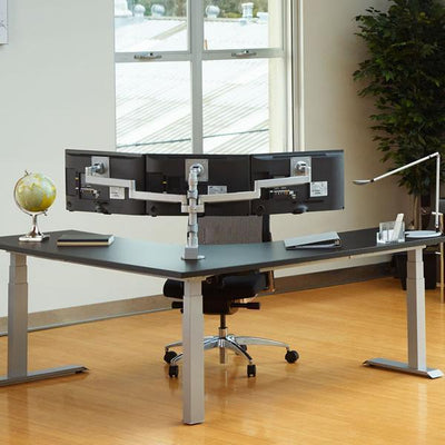 Workrite Triple Monitor Arm None / None Workrite Conform Triple Static Monitor Arm