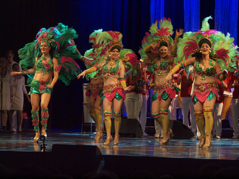 brazilian samba dancers for hire