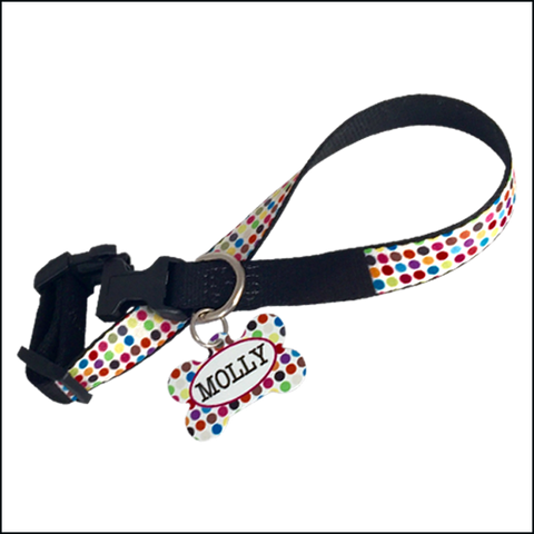 Dog Collar and Tag Set $14.95 - $29.95