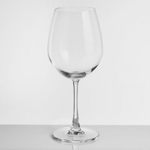 15 oz. wine glass for customization