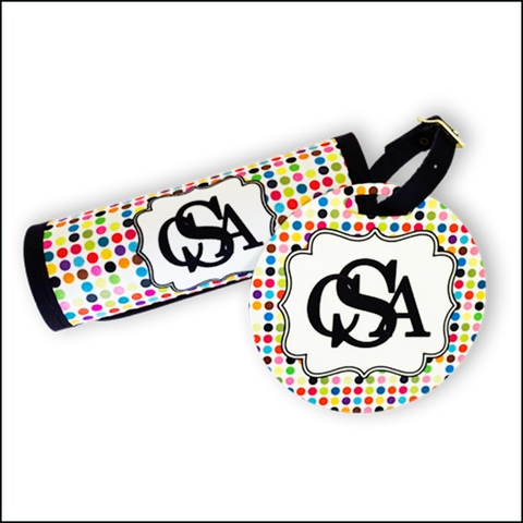 Multi-Dots Luggage Tag and Luggage Finder Set $12.95 - $24.95
