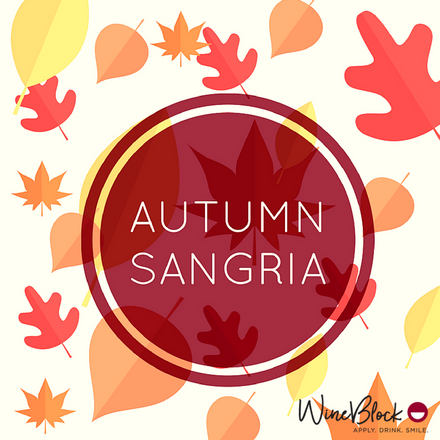 Our Autumn Sangria is a Pinterest Success