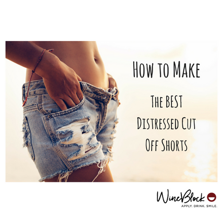 How to Make - The BEST Distressed Cut Off Shorts