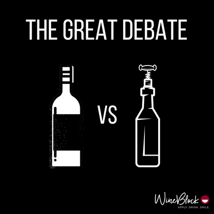 Screw Cap vs. Cork