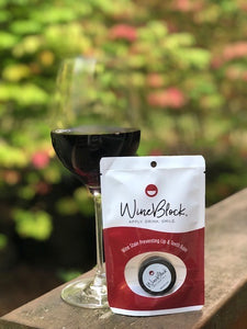 WineBlock Stain Preventing Lip & Teeth Balm WB102 (Flex Bag Packaging)