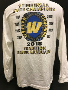 2018 Football State L/S Shirt