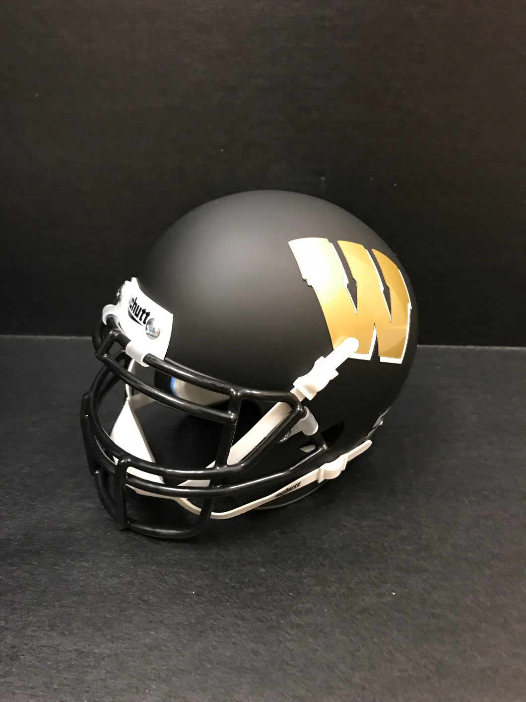 Mini Football Helmet- Black