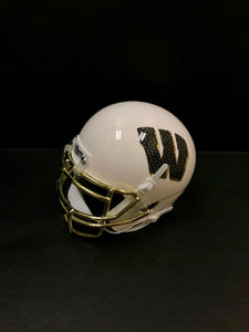 Mini Football Helmet-White