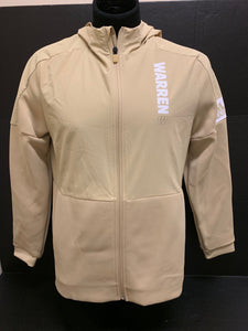 Women's Sand Hooded Full Zip Jacket