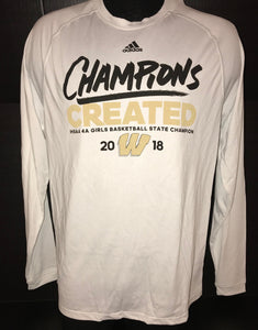 2017 Girls Basketball State Champions Long Sleeve