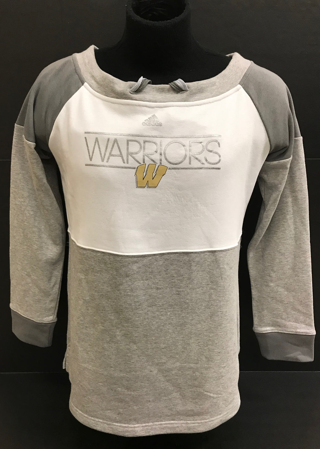 Women's Warriors French Terry Sweater