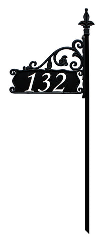 Boardwalk Reflective Address Sign