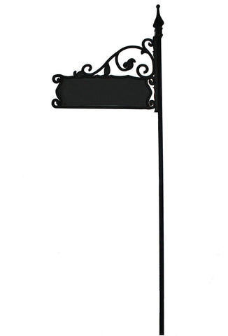 "Boardwalk XL Reflective Address Yard Sign- Jumbo 6"" Numbers - 80"" Post For Large Yards"