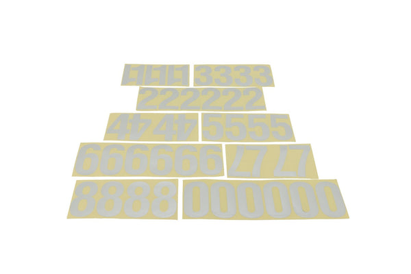 "Address America 44 - 4"" Reflective Peel-n-stick Address Number Set"