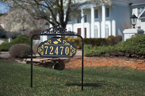 Le Paris Estate Sign - Available Single-Sided or Double-Sided