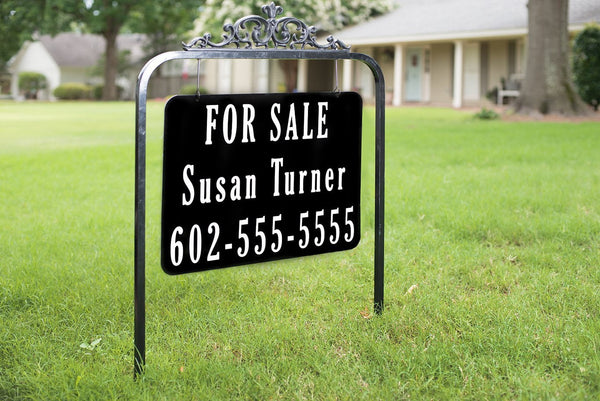 Montrachet Reflective Real Estate Sign