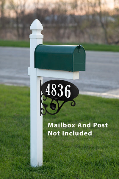 Mailbox Sign on Mailbox