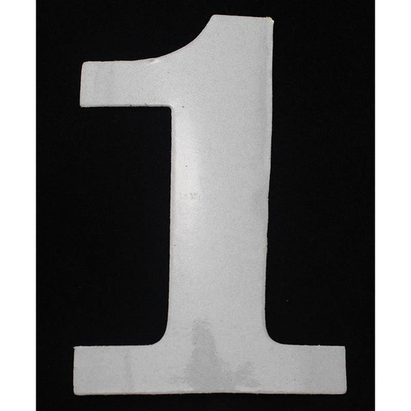 "Deco Style 4"" Reflective Number - 1 - Address America"