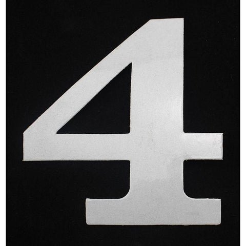 "Deco Style 4"" Reflective Number – 4 - Address America"