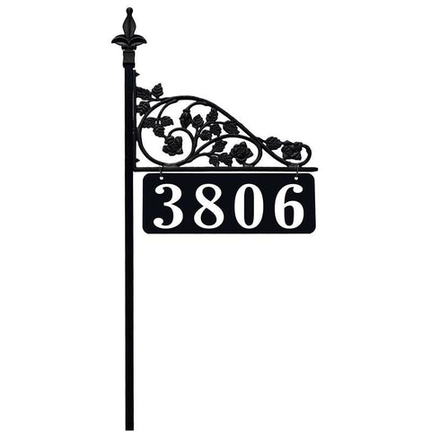 Rose Reflective Address Sign - Address America