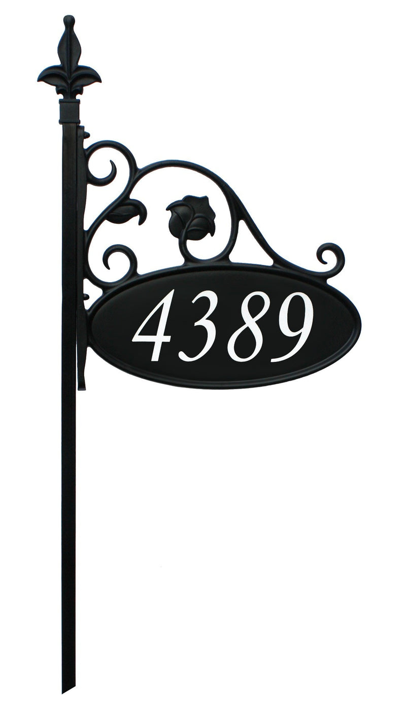 Reflective Address Yard Sign Park Place Beautiful Low Cost
