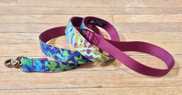 Nebula Leash | Burgundy