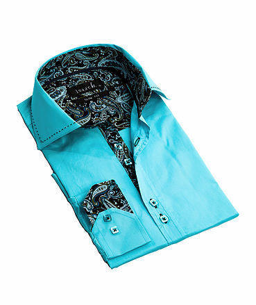 5215-TURQUOISE - IBWEARS.COMMens Fashion, Mens T-Shirts, Men Shirts, Mens Clothing Mens Shorts, Mens Clothing, Mens T-Shirts, Mens Shirts, Mens Jeans - 3