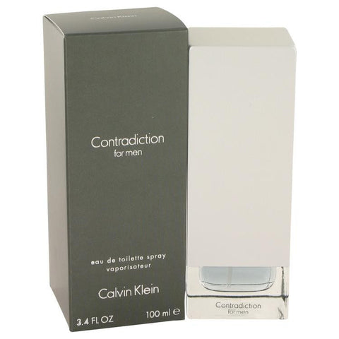 CONTRADICTION by Calvin Klein Eau De Toilette Spray 3.4 oz - Miaimi perfume and cologne @ 123fragrance.net-Brand name fragrances, colognes, perfumes, shopping made easy - 2
