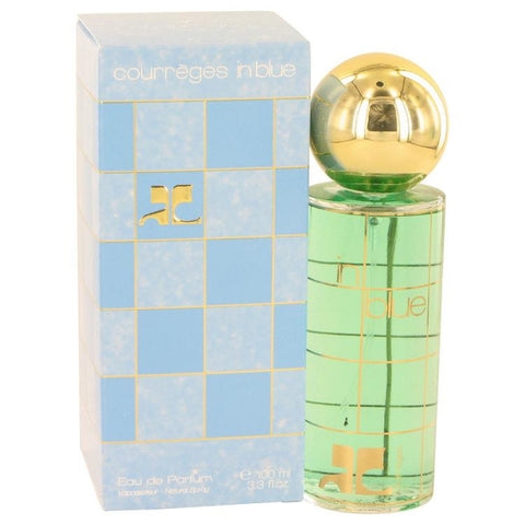 COURREGES IN BLUE by Courreges Eau De Parfum Spray 3.4 oz - Miaimi perfume and cologne @ 123fragrance.net-Brand name fragrances, colognes, perfumes, shopping made easy - 2