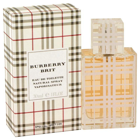 Burberry Brit by Burberry Eau De Toilette Spray 1 oz - Miaimi perfume and cologne @ 123fragrance.net-Brand name fragrances, colognes, perfumes, shopping made easy - 2
