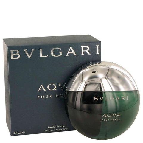 AQUA POUR HOMME by Bvlgari Eau De Toilette Spray 3.3 oz - Fragrances for Men - 123fragrance.net