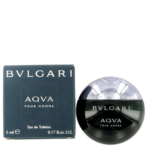 AQUA POUR HOMME by Bvlgari Mini EDT .17 oz - Fragrances for Men - 123fragrance.net