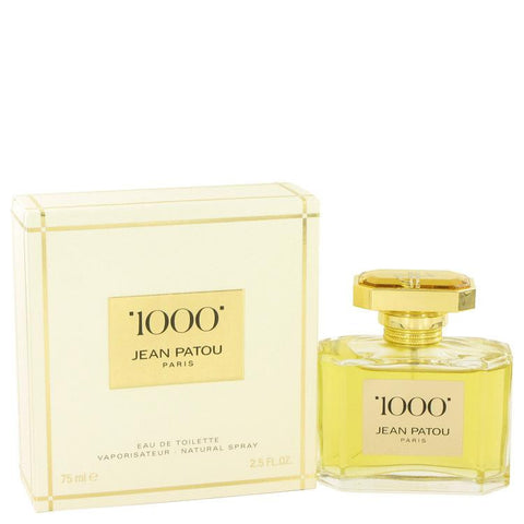1000 by Jean Patou Eau De Toilette Spray 2.5 oz - Fragrances for Women - 123fragrance.net