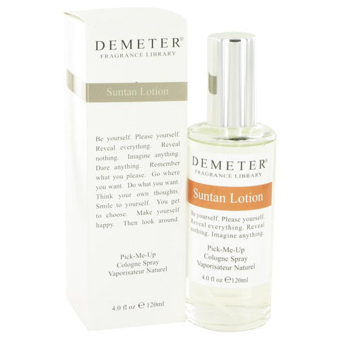 Demeter by Demeter Suntan Lotion Cologne Spray 4 oz - Miaimi perfume and cologne @ 123fragrance.net-Brand name fragrances, colognes, perfumes, shopping made easy - 2