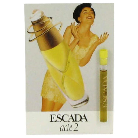 ACTE 2 by Escada Vial (sample) .04 oz - Fragrances for Women - 123fragrance.net