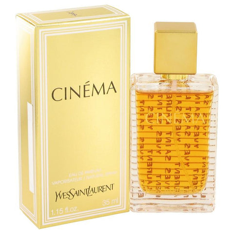 Cinema by Yves Saint Laurent Eau De Parfum Spray 1.15 oz - Miaimi perfume and cologne @ 123fragrance.net-Brand name fragrances, colognes, perfumes, shopping made easy - 2