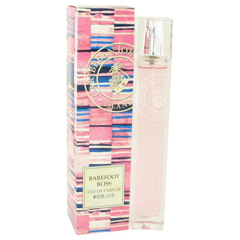 Barefoot Bliss by Caribbean Joe Eau De Parfum Spray 3.3 oz - Miaimi perfume and cologne @ 123fragrance.net-Brand name fragrances, colognes, perfumes, shopping made easy