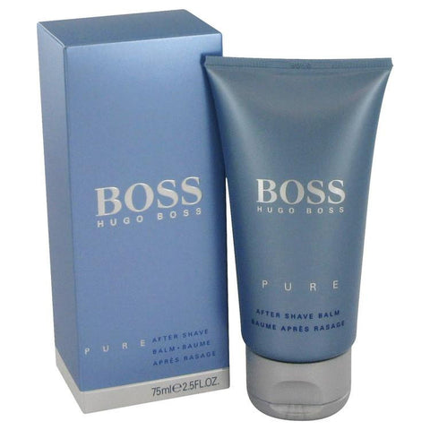 Boss Pure by Hugo Boss After Shave Balm 2.5 oz - Miaimi perfume and cologne @ 123fragrance.net-Brand name fragrances, colognes, perfumes, shopping made easy - 2
