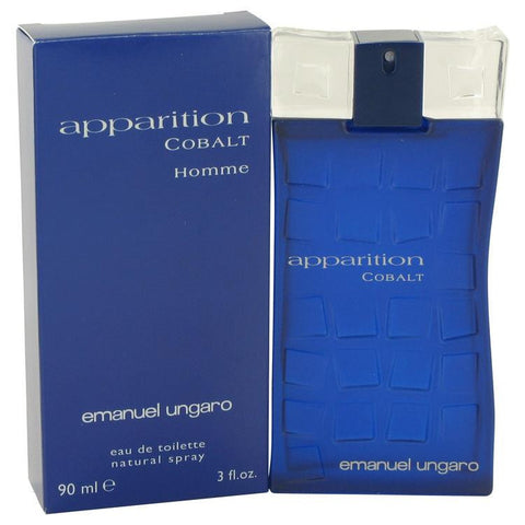 Apparition Cobalt by Ungaro Eau De Toilette Spray 3 oz - Fragrances for Men - 123fragrance.net