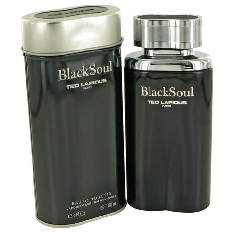 Black Soul by Ted Lapidus Eau De Toilette Spray 3.4 oz - Miaimi perfume and cologne @ 123fragrance.net-Brand name fragrances, colognes, perfumes, shopping made easy - 2