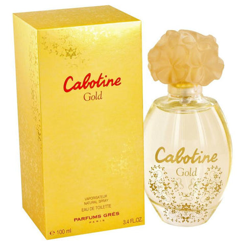 Cabotine Gold by Parfums Gres Eau De Toilette Spray 3.4 oz - Miaimi perfume and cologne @ 123fragrance.net-Brand name fragrances, colognes, perfumes, shopping made easy - 2
