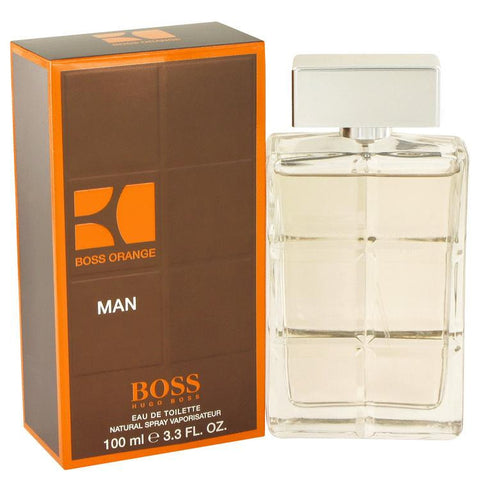 Boss Orange by Hugo Boss Eau De Toilette Spray 3.4 oz - Miaimi perfume and cologne @ 123fragrance.net-Brand name fragrances, colognes, perfumes, shopping made easy - 2