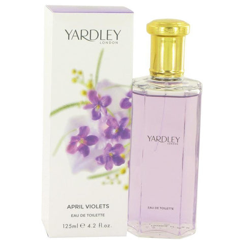 April Violets by Yardley London Eau De Toilette Spray 4.2 oz - Fragrances for Women - 123fragrance.net