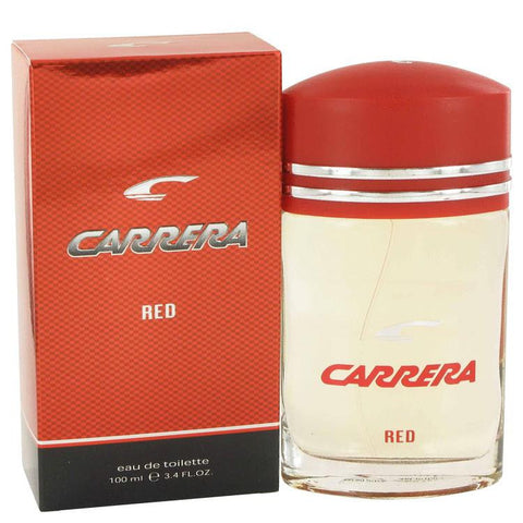 Carrera Red by Vapro International Eau De Toilette Spray 3.4 oz - Miaimi perfume and cologne @ 123fragrance.net-Brand name fragrances, colognes, perfumes, shopping made easy
