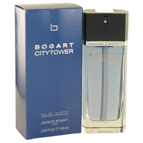 Bogart City Tower by Jacques Bogart Eau De Toilette Spray 3.3 oz - Miaimi perfume and cologne @ 123fragrance.net-Brand name fragrances, colognes, perfumes, shopping made easy - 2